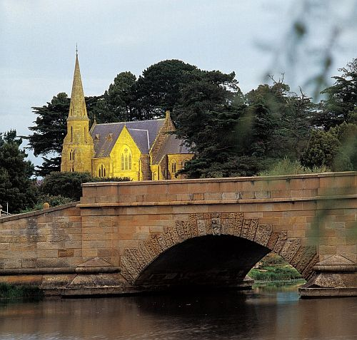 Ross Bridge & Church