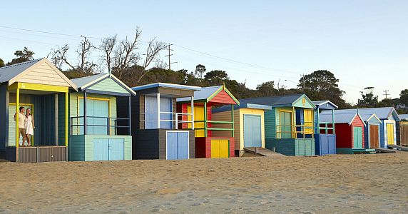 Bathing Boxes - Mt Martha