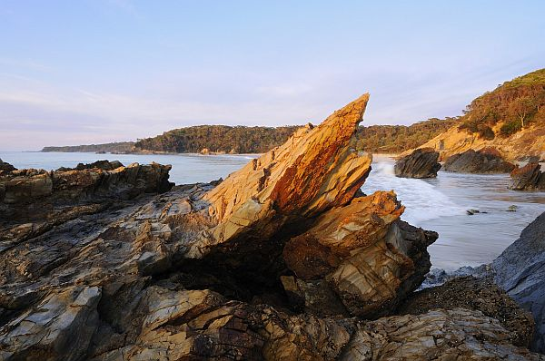 Rocks at Secret Beach, Mallacoota