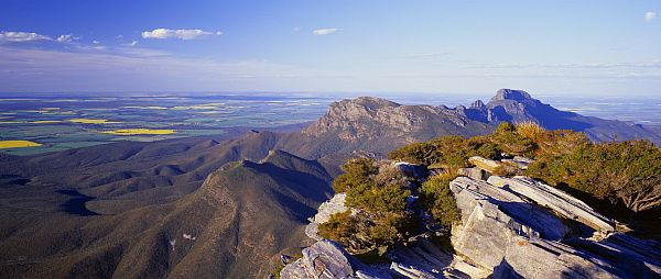 View from Bluff Knoll, located in the Stirling Range National Park