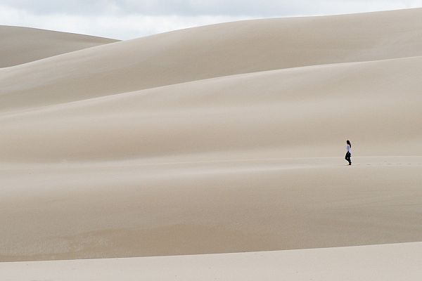 Walking in the the Hamersley Dunes, located in the Fitzgerald River National Park