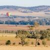 Hot air ballooning, Canowindra