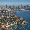 Point Piper aerial, morning