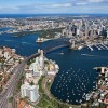 Sydney Harbour aerial, afternoon