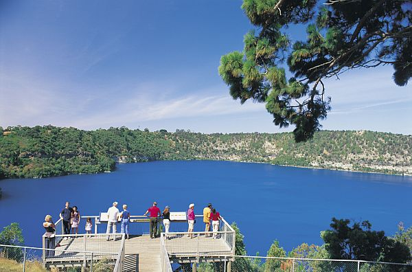 Blue Lake Lookout Platform