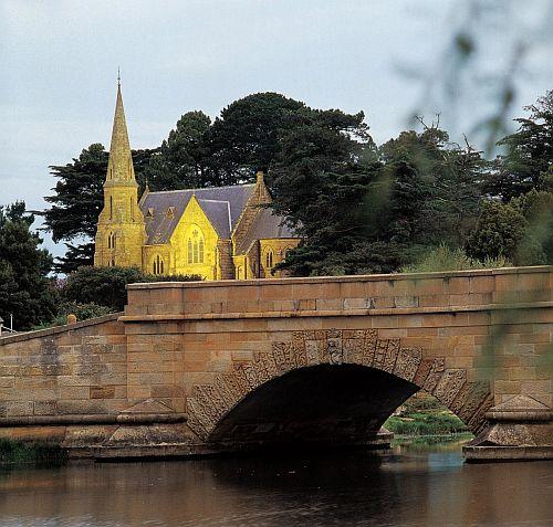 Ross Bridge & Church