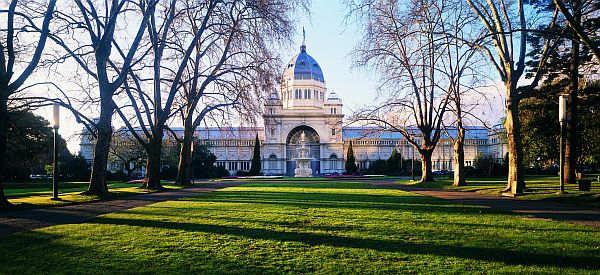 Royal Exhibition Building in Carlton Gardens