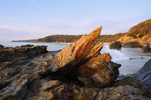 Rocks at Secret Beach, Mallacoota