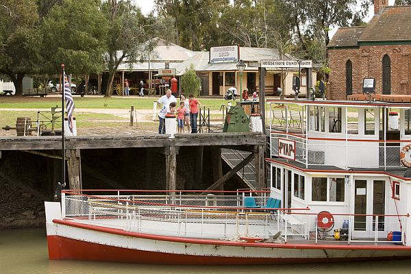 Ferry at Swan Hill Pioneer Settlement