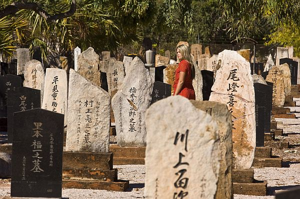 The Japanese Cemetery, resting place of over 900 pearl divers